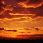 夕日のイメージ